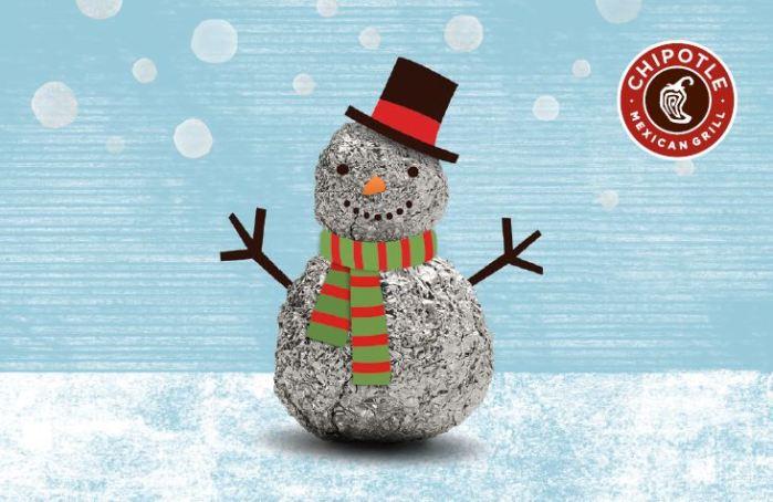 snowman burrito