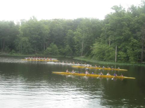 summer crew rowing camp